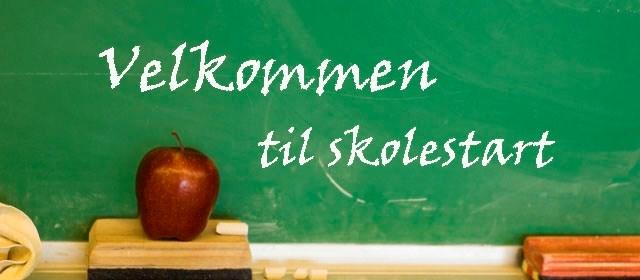 Skolestart